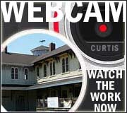 Canaan Union Station Webcam from Curtis Insurance